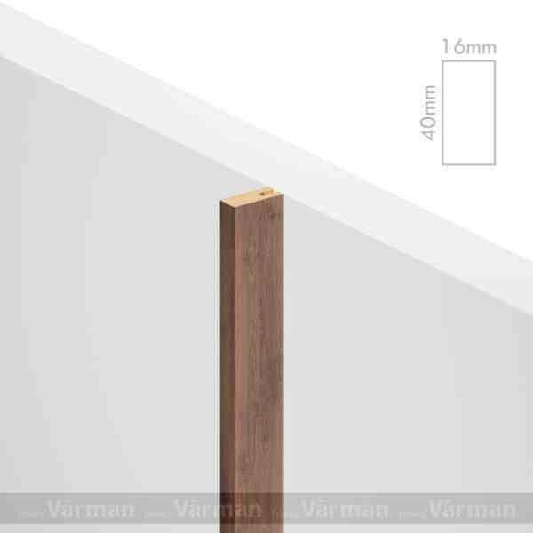 Рейка пристенная 16✕40 (40х16х40) Декоративные панели МДФ, Панель МДФ, Фанерирование, Декоративные стеновые панели, стековые панели для внутренней отделки, декоративные панели для стен, Декоративные стековые панели, Шпонированные панели МДФ, Шпонированные панели, фанерованные панели МДФ, Производство панелей из МДФ, стековая МДФ панель, ламель, рейка, баффель, брусок, реечный потолок, балка, палка, реечные перегородки, декоративные рейки, массив, шпон, декоративные панели, деревянная,Натуральный шпон дуба, ясеня, американского ореха