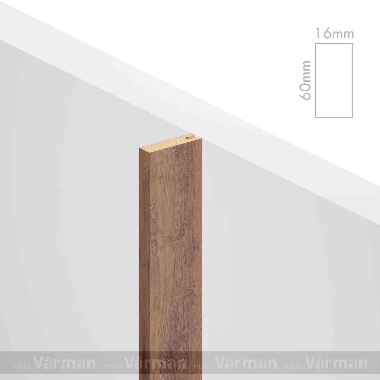 Рейка пристенная 16✕60 (60х16х60) Декоративные панели МДФ, Панель МДФ, Фанерирование, Декоративные стеновые панели, стековые панели для внутренней отделки, декоративные панели для стен, Декоративные стековые панели, Шпонированные панели МДФ, Шпонированные панели, фанерованные панели МДФ, Производство панелей из МДФ, стековая МДФ панель, ламель, рейка, баффель, брусок, реечный потолок, балка, палка, реечные перегородки, декоративные рейки, массив, шпон, декоративные панели, деревянная,Натуральный шпон дуба, ясеня, американского ореха