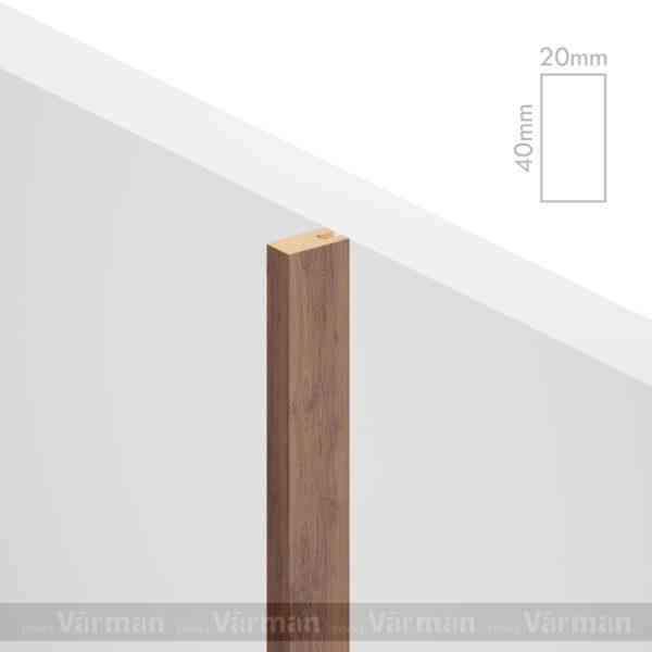 Рейка пристенная 20✕40 (40х20х40)Декоративные панели МДФ, Панель МДФ, Фанерирование, Декоративные стеновые панели, стековые панели для внутренней отделки, декоративные панели для стен, Декоративные стековые панели, Шпонированные панели МДФ, Шпонированные панели, фанерованные панели МДФ, Производство панелей из МДФ, стековая МДФ панель, ламель, рейка, баффель, брусок, реечный потолок, балка, палка, реечные перегородки, декоративные рейки, массив, шпон, декоративные панели, деревянная,Натуральный шпон дуба, ясеня, американского ореха