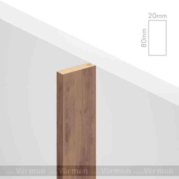 Рейка пристенная 20✕80 (80х20х80) Декоративные панели МДФ, Панель МДФ, Фанерирование, Декоративные стеновые панели, стековые панели для внутренней отделки, декоративные панели для стен, Декоративные стековые панели, Шпонированные панели МДФ, Шпонированные панели, фанерованные панели МДФ, Производство панелей из МДФ, стековая МДФ панель, ламель, рейка, баффель, брусок, реечный потолок, балка, палка, реечные перегородки, декоративные рейки, массив, шпон, декоративные панели, деревянная,Натуральный шпон дуба, ясеня, американского ореха