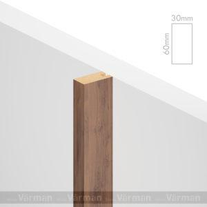 Рейка пристенная 30✕60 (60х30х60) Декоративные панели МДФ, Панель МДФ, Фанерирование, Декоративные стеновые панели, стековые панели для внутренней отделки, декоративные панели для стен, Декоративные стековые панели, Шпонированные панели МДФ, Шпонированные панели, фанерованные панели МДФ, Производство панелей из МДФ, стековая МДФ панель, ламель, рейка, баффель, брусок, реечный потолок, балка, палка, реечные перегородки, декоративные рейки, массив, шпон, декоративные панели, деревянная,Натуральный шпон дуба, ясеня, американского ореха