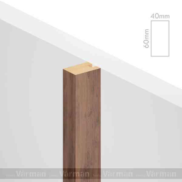 Рейка пристенная 40✕60 (60х40х60) Декоративные панели МДФ, Панель МДФ, Фанерирование, Декоративные стеновые панели, стековые панели для внутренней отделки, декоративные панели для стен, Декоративные стековые панели, Шпонированные панели МДФ, Шпонированные панели, фанерованные панели МДФ, Производство панелей из МДФ, стековая МДФ панель, ламель, рейка, баффель, брусок, реечный потолок, балка, палка, реечные перегородки, декоративные рейки, массив, шпон, декоративные панели, деревянная,Натуральный шпон дуба, ясеня, американского ореха