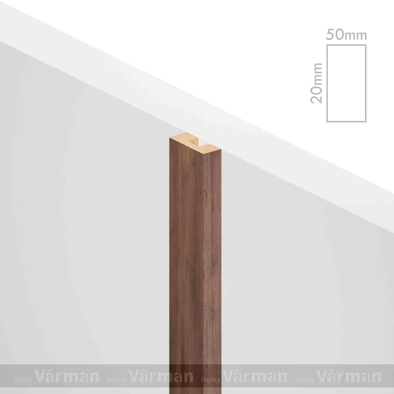 Рейка пристенная 50✕20 (20х50х20) Декоративные панели МДФ, Панель МДФ, Фанерирование, Декоративные стеновые панели, стековые панели для внутренней отделки, декоративные панели для стен, Декоративные стековые панели, Шпонированные панели МДФ, Шпонированные панели, фанерованные панели МДФ, Производство панелей из МДФ, стековая МДФ панель, ламель, рейка, баффель, брусок, реечный потолок, балка, палка, реечные перегородки, декоративные рейки, массив, шпон, декоративные панели, деревянная,Натуральный шпон дуба, ясеня, американского ореха
