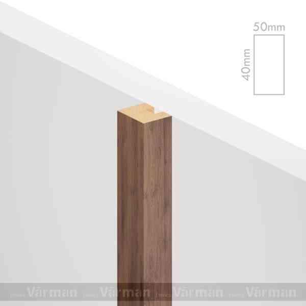 Рейка пристенная 50✕40 (40х50х40) Декоративные панели МДФ, Панель МДФ, Фанерирование, Декоративные стеновые панели, стековые панели для внутренней отделки, декоративные панели для стен, Декоративные стековые панели, Шпонированные панели МДФ, Шпонированные панели, фанерованные панели МДФ, Производство панелей из МДФ, стековая МДФ панель, ламель, рейка, баффель, брусок, реечный потолок, балка, палка, реечные перегородки, декоративные рейки, массив, шпон, декоративные панели, деревянная,Натуральный шпон дуба, ясеня, американского ореха