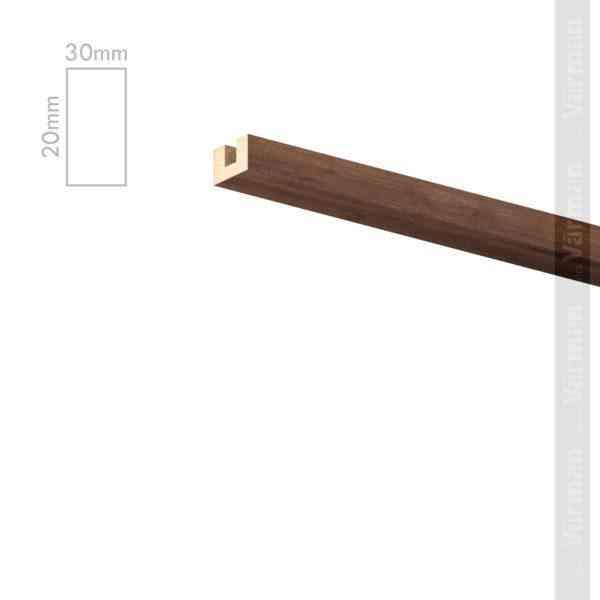Рейка потолочная 30✕20 (20х30х20) Декоративные панели МДФ, Панель МДФ, Фанерирование, Декоративные стеновые панели, стековые панели для внутренней отделки, декоративные панели для стен, Декоративные стековые панели, Шпонированные панели МДФ, Шпонированные панели, фанерованные панели МДФ, Производство панелей из МДФ, стековая МДФ панель, ламель, рейка, баффель, брусок, реечный потолок, балка, палка, реечные перегородки, декоративные рейки, массив, шпон, декоративные панели, деревянная,Натуральный шпон дуба, ясеня, американского ореха